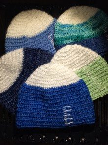 Pattern thanks to Project Thinking Cap: https://www.projectthinkingcap.org
