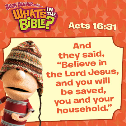Acts 1631 Verse Of The Day 11714 Whats In The Bible