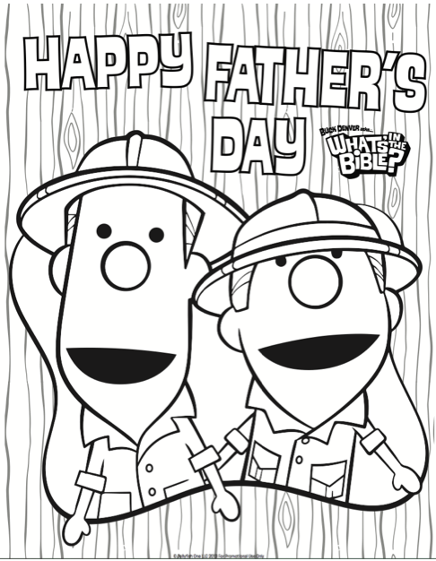 Best Father's Day Coloring Pages