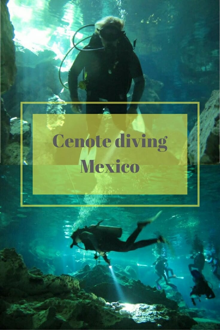 Cenot diving in Mexico on What's Katie Doing? Blog