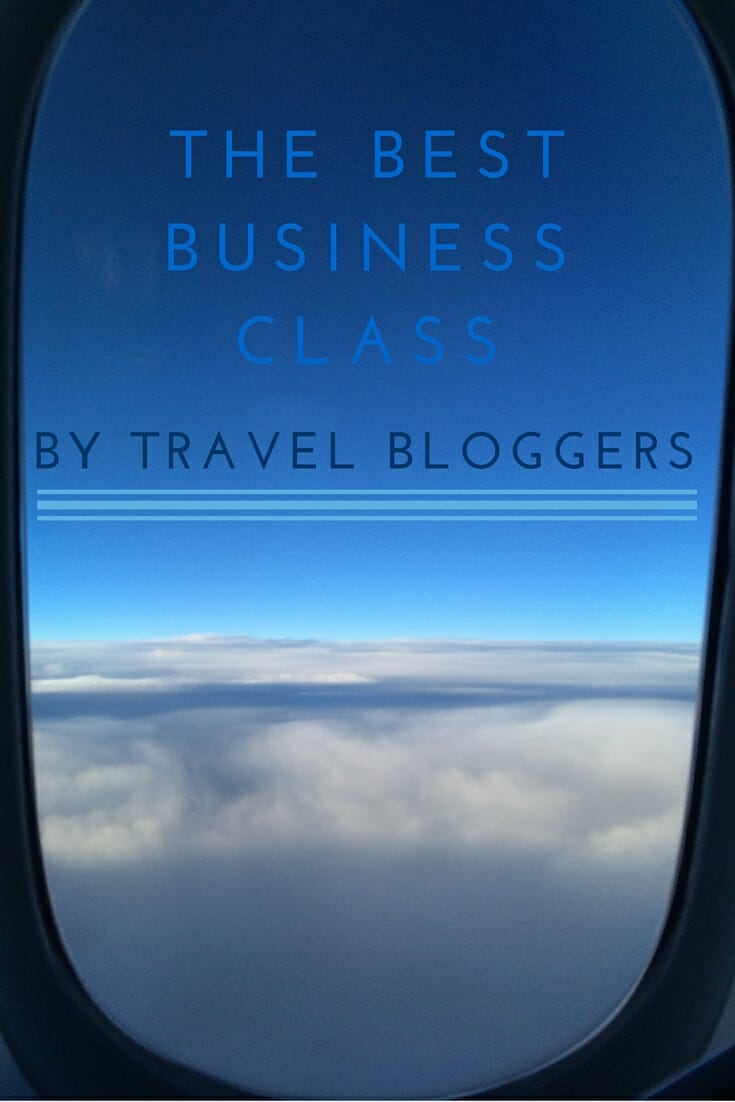 Best Business Class by Travel Bloggers on What's Katie Doing? blog