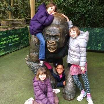 Half term fun @ London Zoo