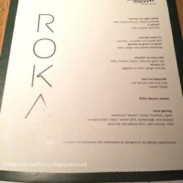 Girls Dinner @ Roka Aldwych
