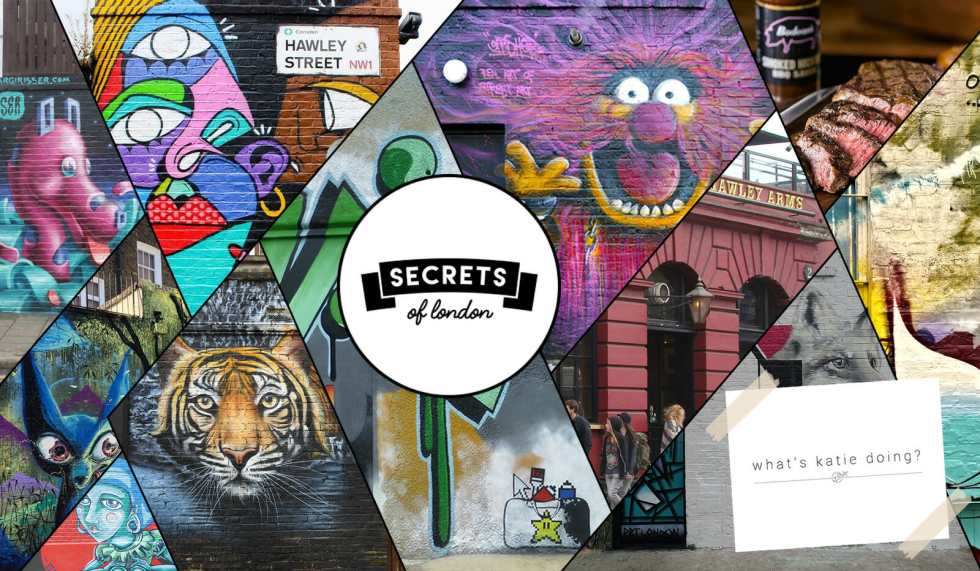 Secrets of London on What's Katie Doing? blog