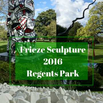 Frieze Sculptures Regents Park + JORD Giveaway!