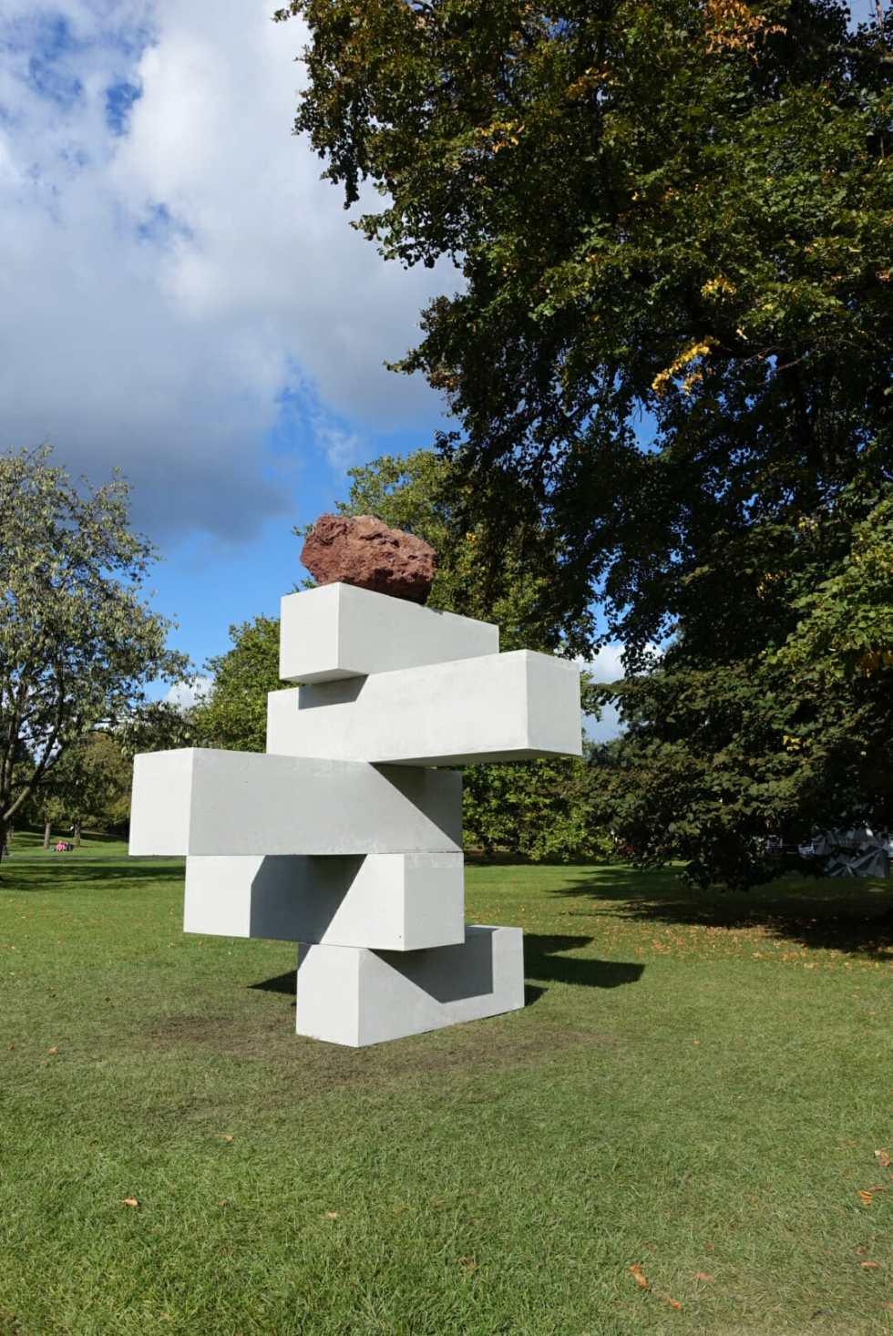 Frieze Sculptures Regents Park + JORD on What's Katie Doing? blog