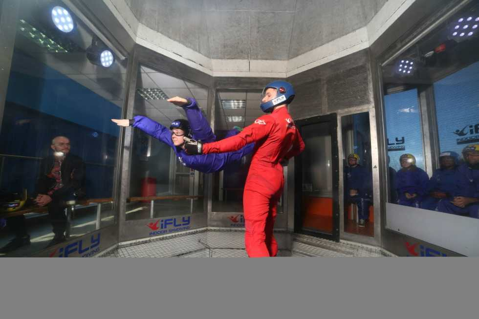 Let's fly away with iFLY on What's Katie Doing? blog