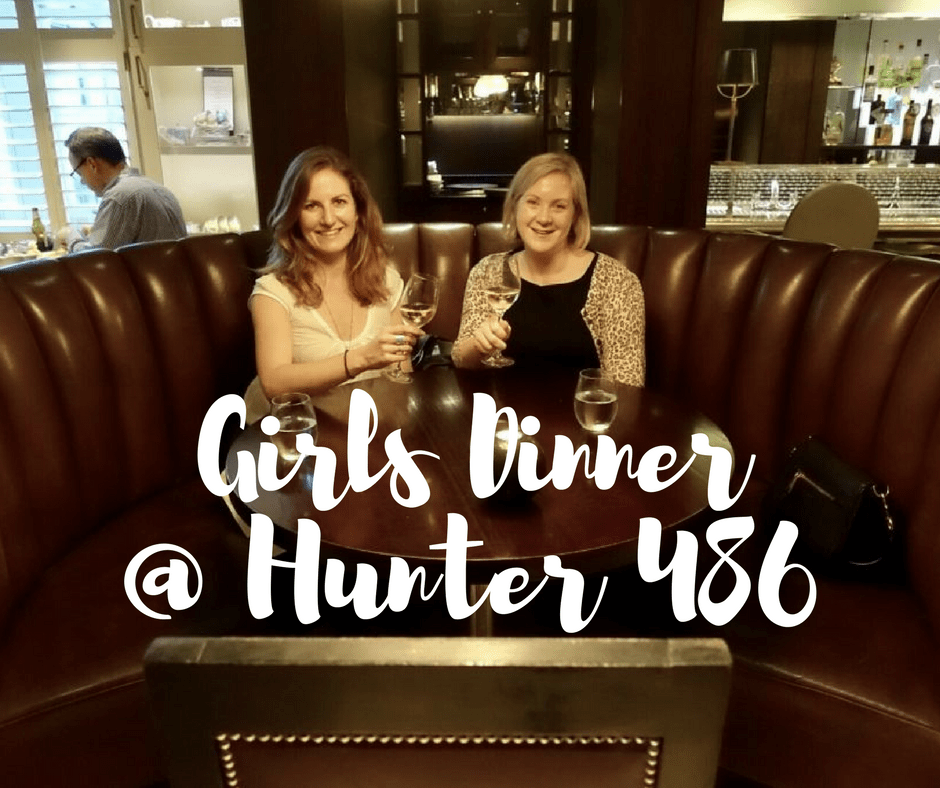 Girls dinner @ Hunter 486 on What's Katie Doing? blog