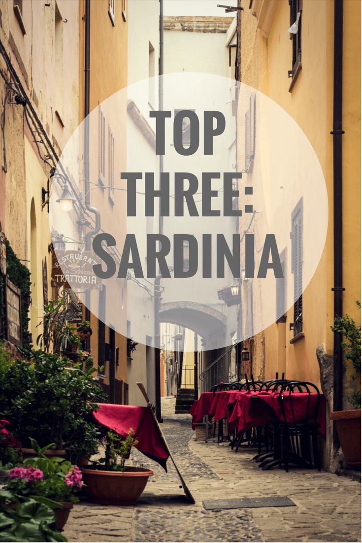 Top Three in Sardinia on What's Katie Doing? Blog