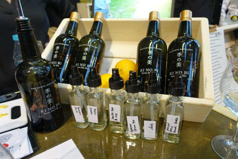 Ki No Bi gin and the botanical spritzers