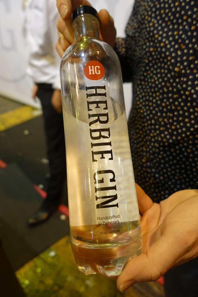 Herbie gin bottle
