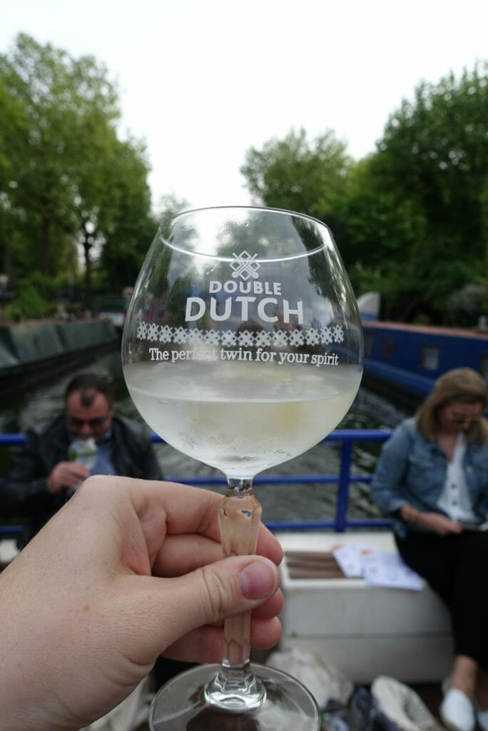 Double Dutch copa glass