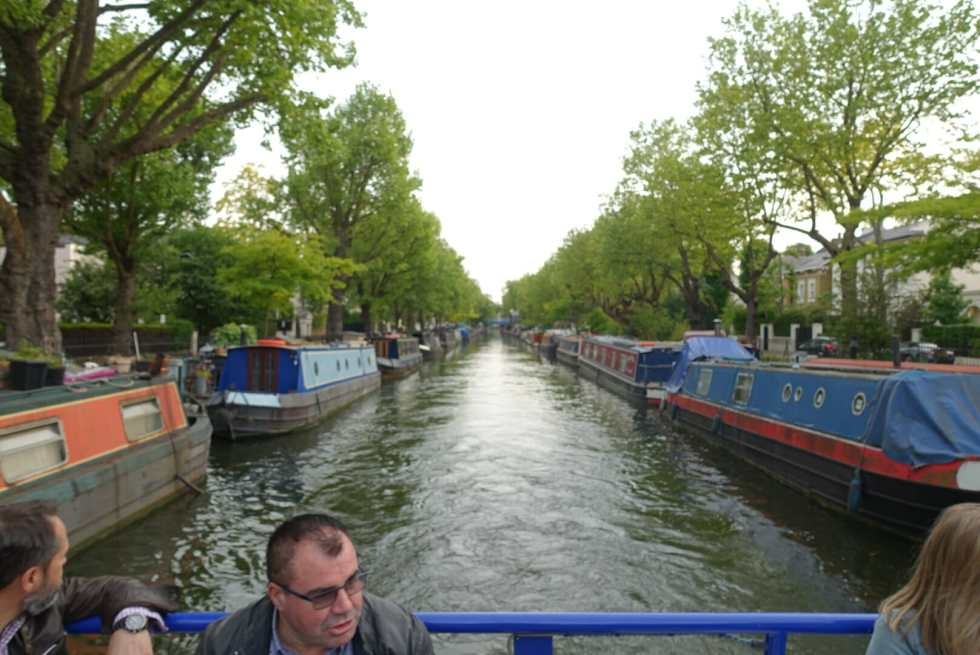 Little Venice area of the canal