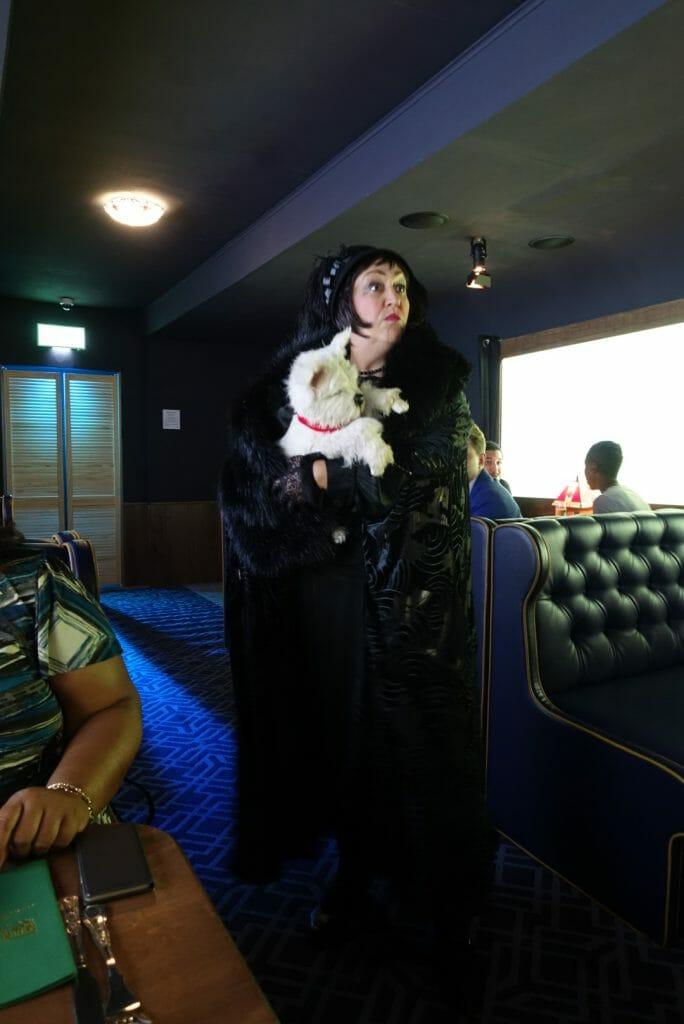 Vera and her dog