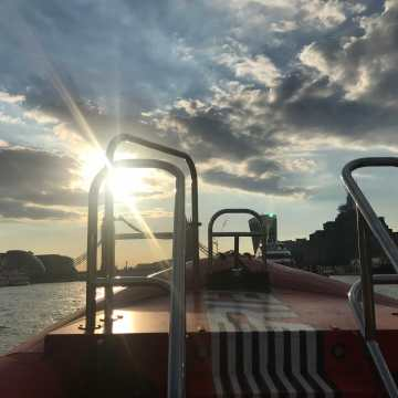 Sightseeing with a difference: Thames Rockets