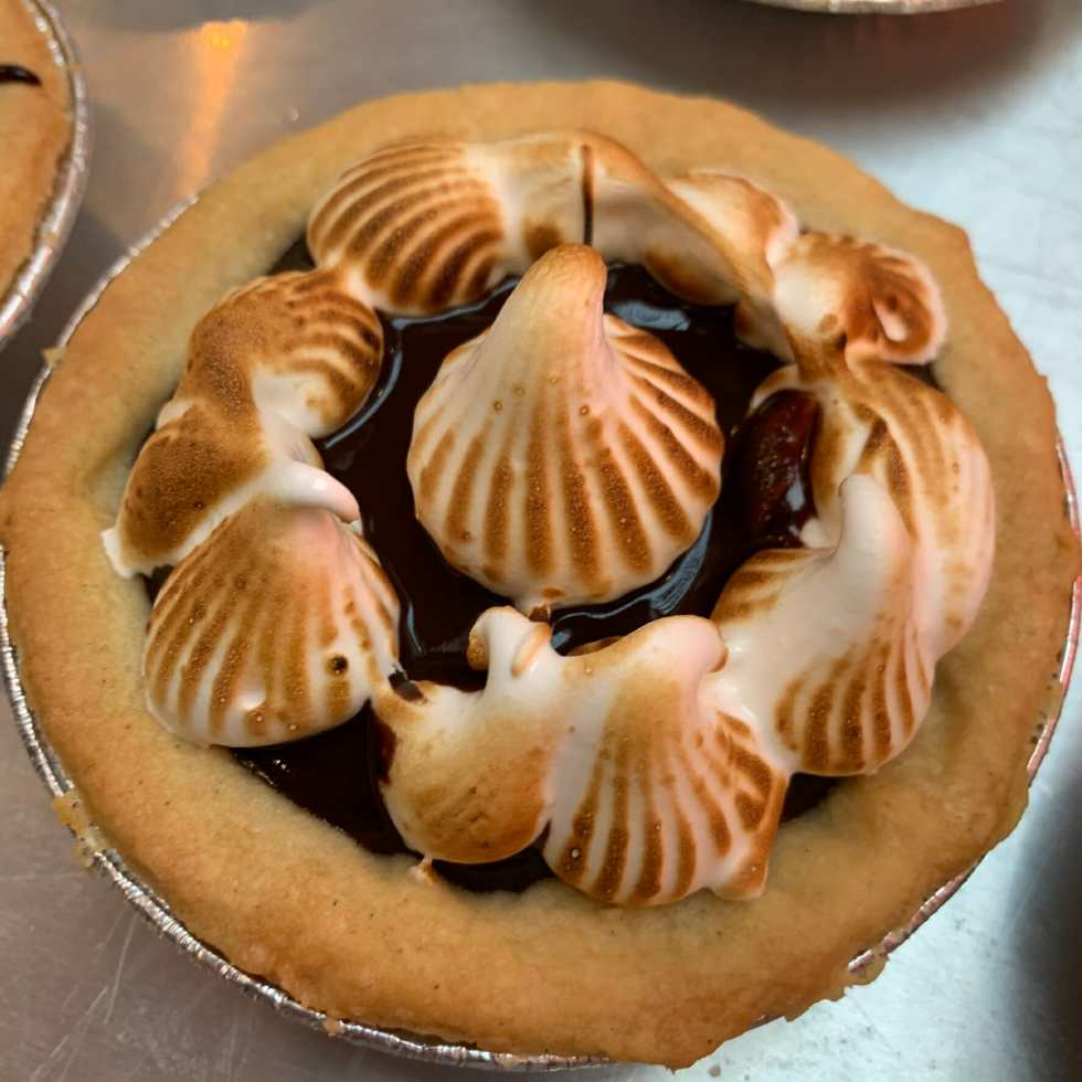 An example of the tarts we were making