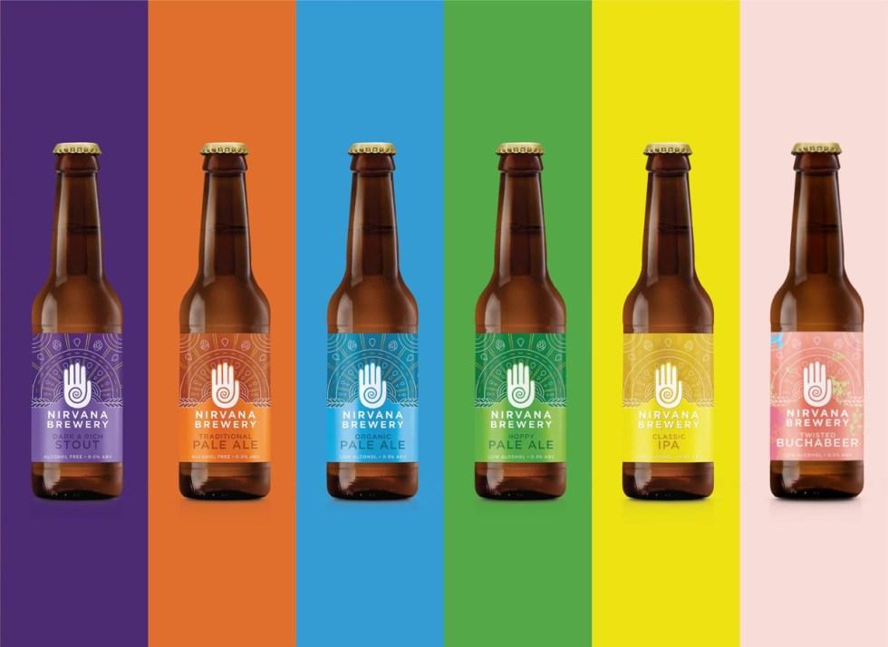 Nirvana Brewery range