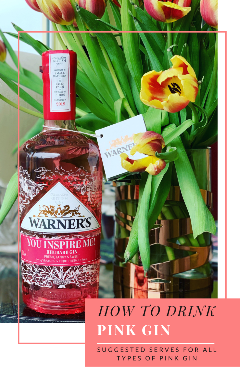 How to drink Pink Gin