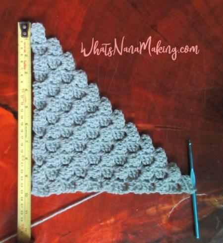 Learn to Crochet - Part 7 - C2C - What's Nana Making?