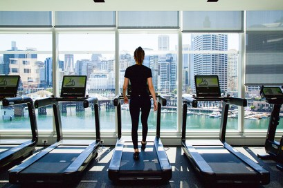 Technogym at the Sofitel - Workout with a view