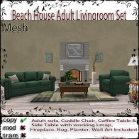 Beach House ADULT Livingroom Set