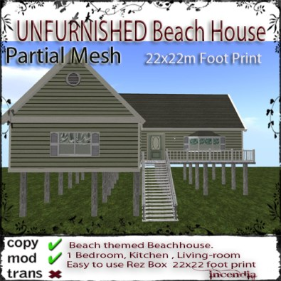 Unfurnished Beach House