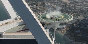 F1 at the Burj