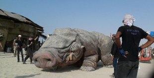 Star Wars Abu Dhabi - behind the scenes pics