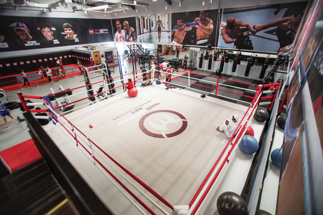 Boxing gyms in Dubai, tried and tested - Team Nogueira