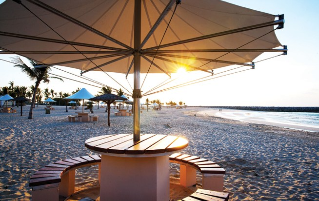 Dubai Parks and Beaches, like Al Mamzar, are to get free wifi