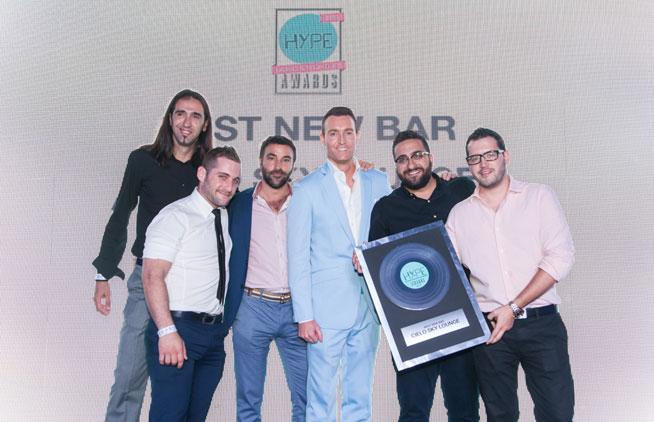 Hype Music & Nightlife Awards at EDEN Beach Club - Cielo, best new bar in Dubai