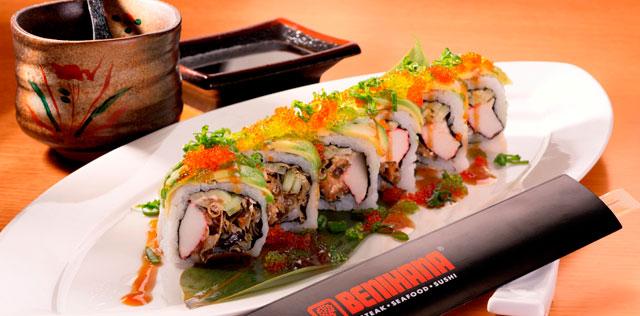 Volcano-roll---Benihana-restaurant