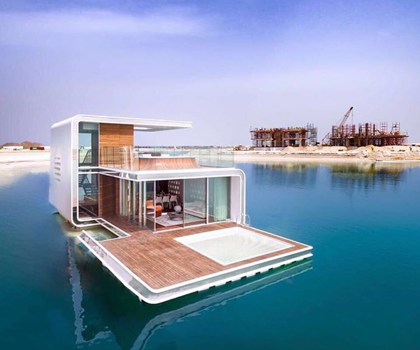 See inside dubai 39 s amazing floating seahorse villas what 39 s on dubai - The floating homes of dubai luxury redefined ...