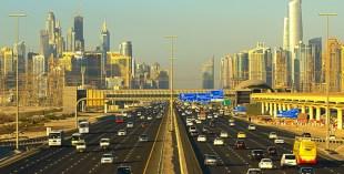 Driving Dubai