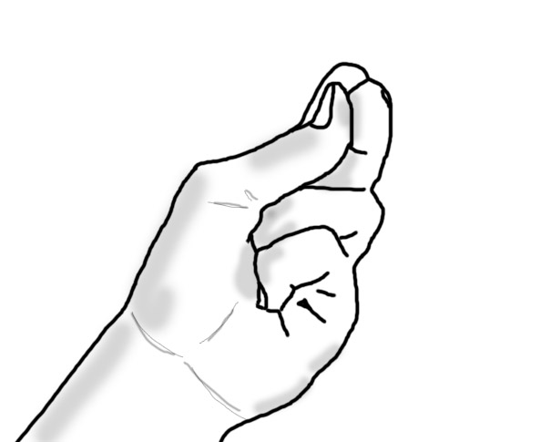 five uae hand gestures