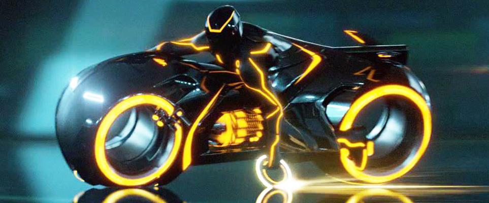 One Of The Tron Light Cycles Is Up For Sale On Dubizzle