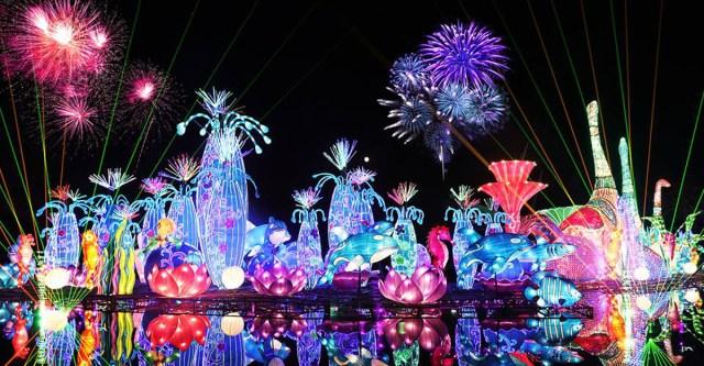 Dubai Garden Glow is back for its 5th season at Zabeel Park