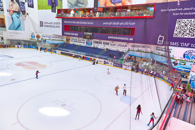 I is for Ice Rink: Things to do in Dubai - an alternative A-Z