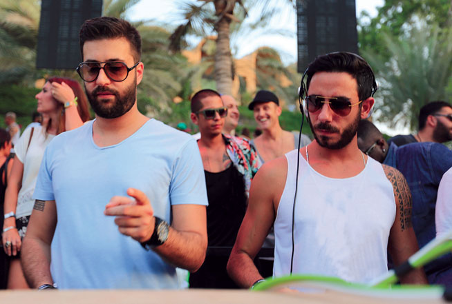 Blue Marlin Ibiza UAE are part of Party In The Park's Hype Clubhouse