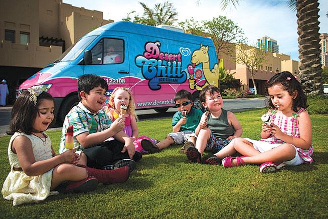 Food trucks in Dubai - Desert Chill