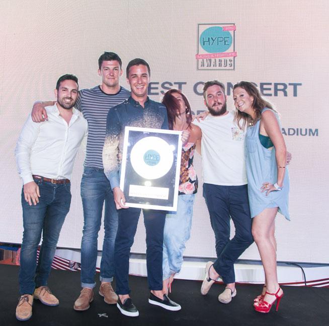Hype Music & Nightlife Awards at EDEN Beach Club - Drake, best concert