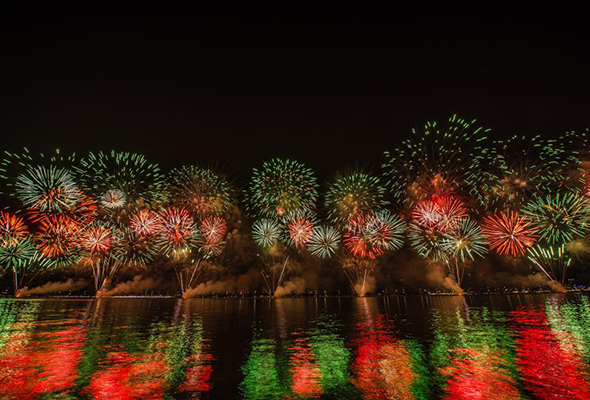 Where to watch fireworks on New Year's Eve in Abu Dhabi 2019