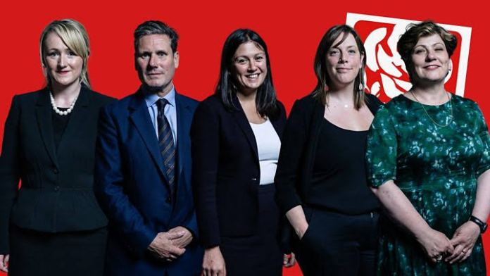 Among Five Candidates in Labour Leadership Contest Four are Women
