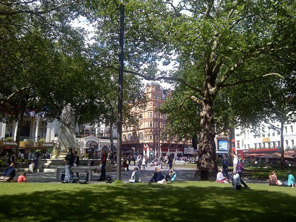 Redeveloped Leicester Square