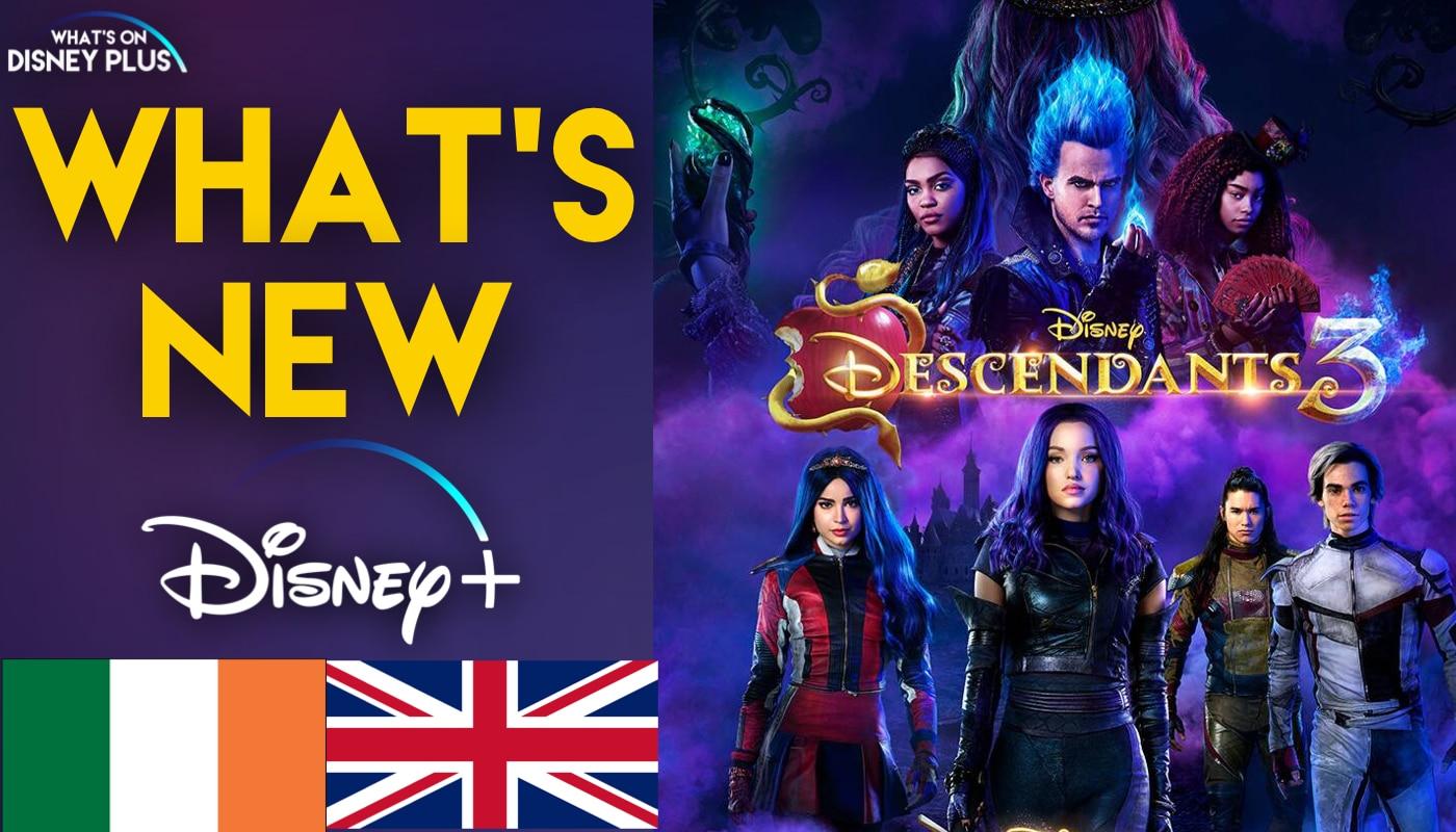 disney channel announce descendants 3