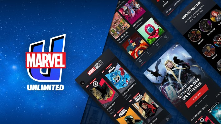 marvel unlimited relaunches with an all new app   what's on disney plus