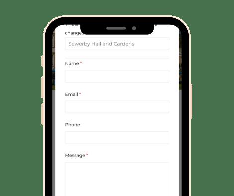 Smartphone Hub Screenshot - Message