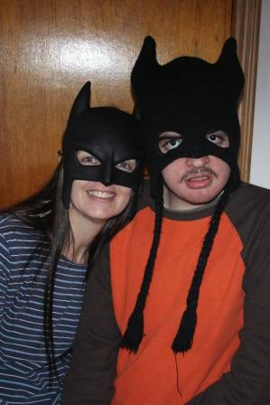Bat Mom and Bat Boy