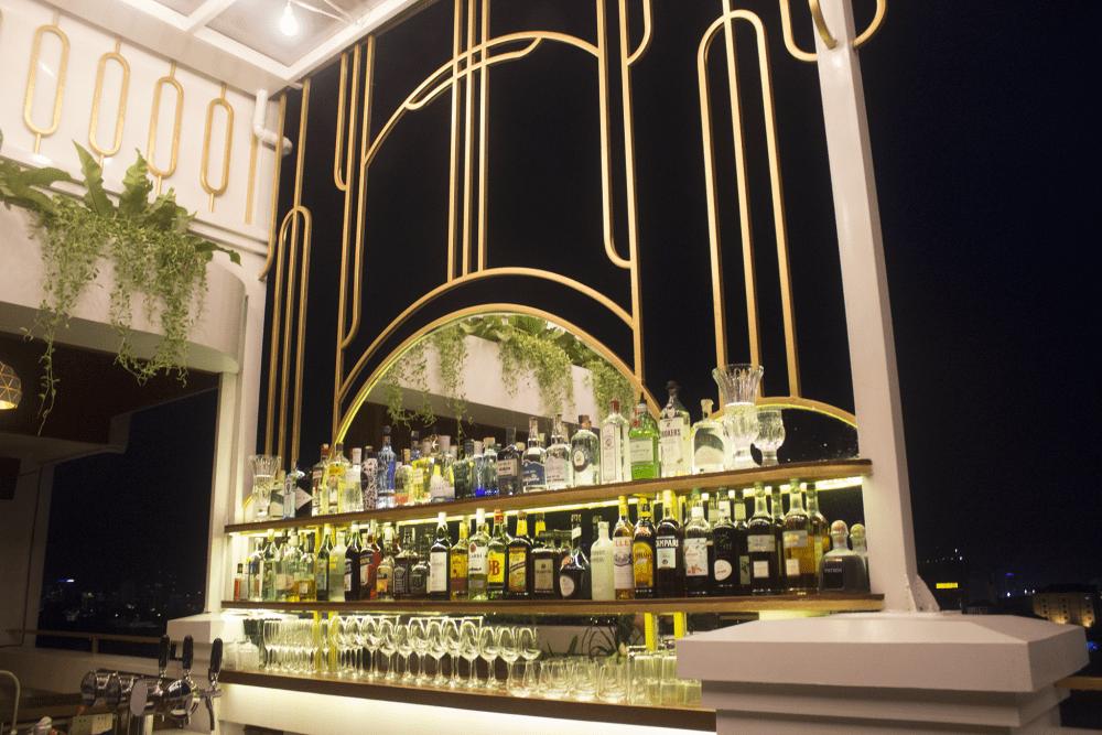 Juniper Gin Bar Phnom Penh night
