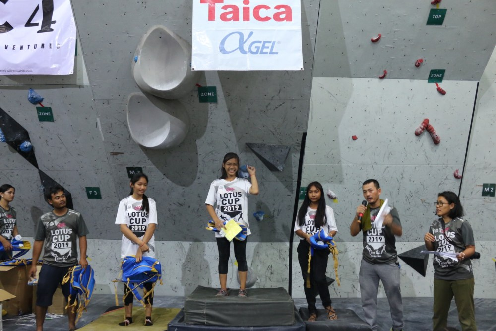 Lotus Cup Climbing Competition Phnom Penh 2019